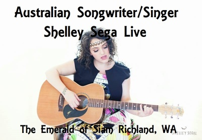Australian Songwriter/Singer Shelley Sega Live In Richland, Washington
