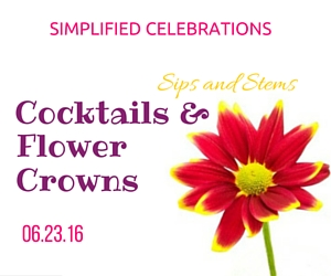 Simplified Celebrations' Sips and Stems - Cocktails and Flower Crowns: Make Ornamental Headress with the Expert's Guidance in Richland, WA
