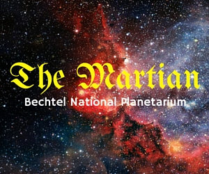 Bechtel National Planetarium presents The Martian in Pasco, WA