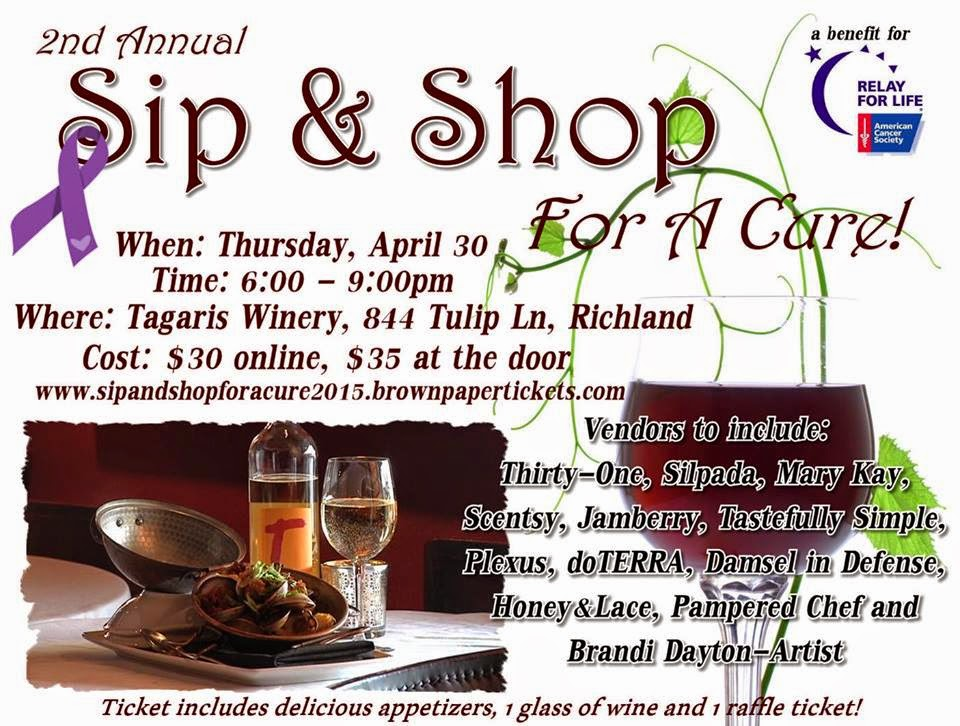 Sip & Shop For A Cure Tagaris Winery In Richland, Washington