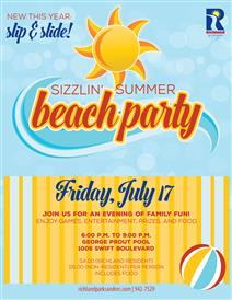 Summer Sizzlin' Pool Party At George Prout Pool In Richland, Washington