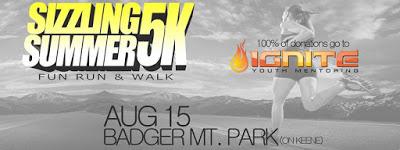 Sizzling Summer 5k Fun Run & Walk At Badger Mt. Park Richland, Washington