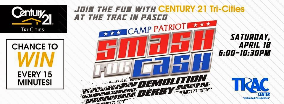 Smash For Cash - Demo Derby At The TRAC Center Pasco, Washington