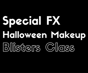 Special FX Halloween Makeup: Blisters Class at Confluent Space Tri-Cities | Richland WA