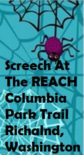 Screech At The REACH Columbia Park Trail Richalnd, Washington