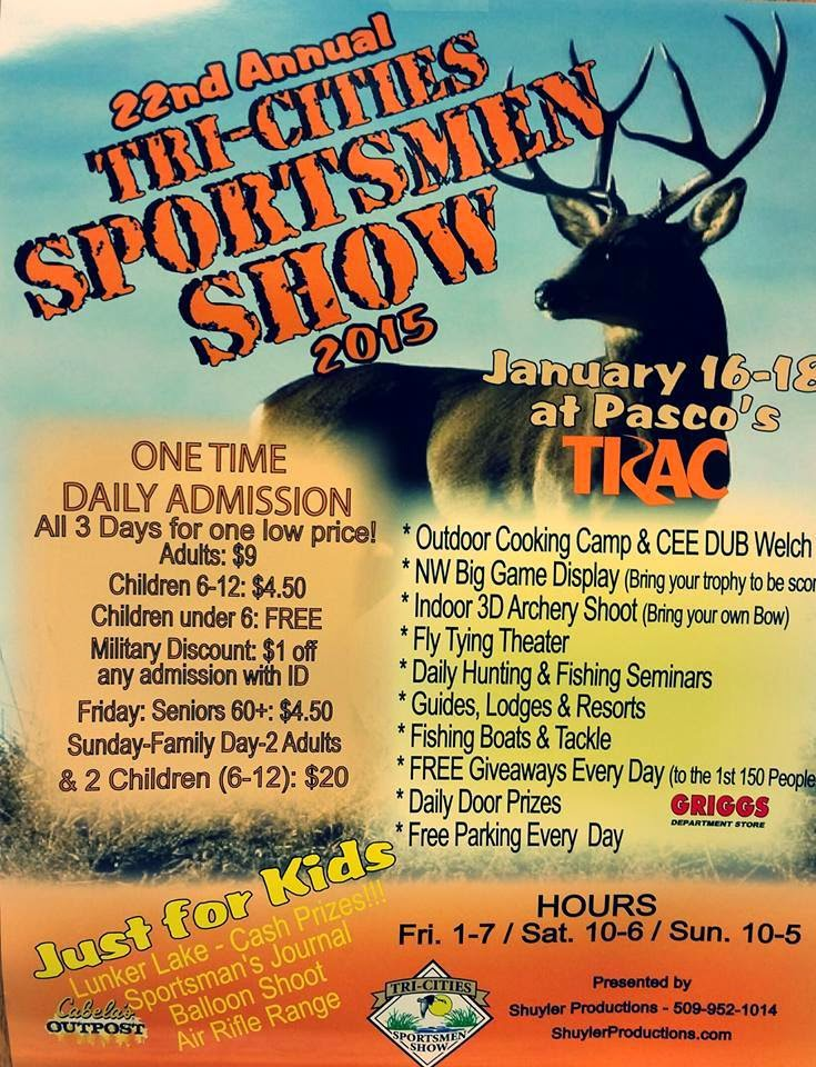 22nd Annual Tri-Cities Sportsmen Show In Pasco, Washington