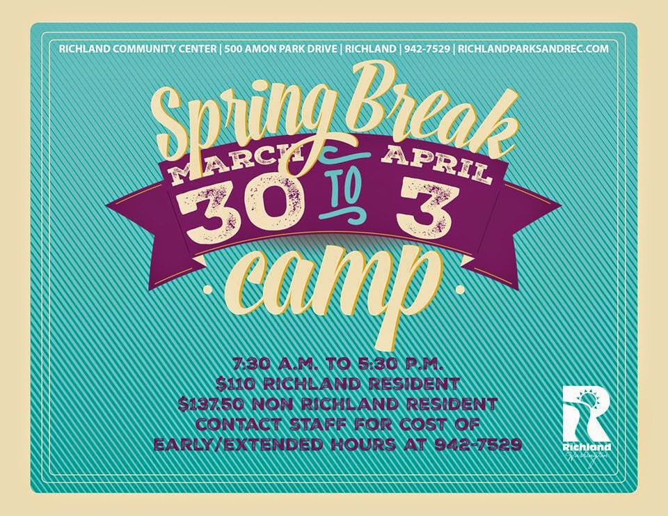 Richland Parks And Recreation Spring Break Camp In Richland, Washington