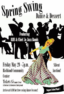 Spring Swing Dance And Dessert Fundraiser In Richland, Washington
