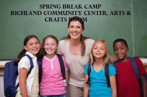 Spring Break Camp At Richland Community Center, Arts & Crafts Room Richland, Washington