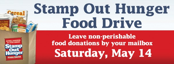 Stamp Out Hunger Food Drive 2016: Donate Food and Spare the Needy From Hunger | National Association of Letter Carriers in Pasco, WA