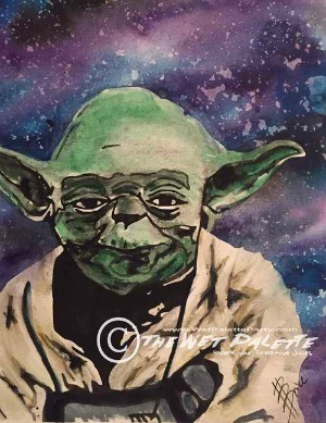 The Wet Palette Party Presents Star Wars Series: A Sci-Fi Painting Party | Richland, WA