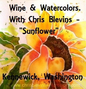 Wine & Watercolors With Chris Blevins -