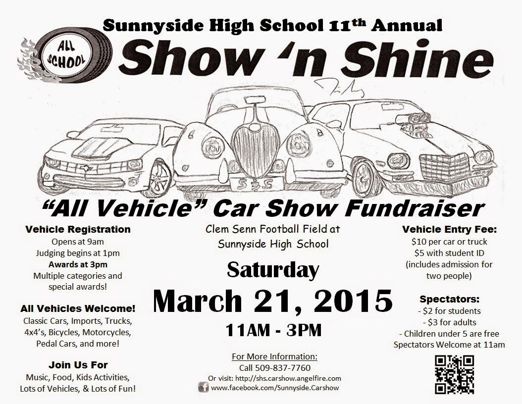 Sunnyside High School Annual Show 'n Shine In Sunnyside, Washington