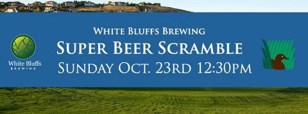 White Bluffs Brewing Presents Super Beer Scramble Featuring Great Prizes, Special Meals and Footbal Game Viewing in Kennewick, WA