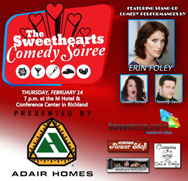 Sweethearts Comedy Soire Red Lion Inn Kennewick, Washington
