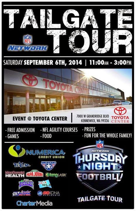 Tri-Cities Fever Tailgate Tour - Toyota Center In Kennewick, WA