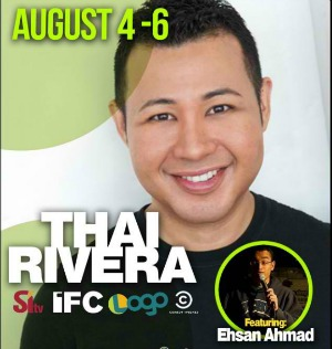 Thai Rivera to Play the Clown at Jokers Comedy Club in Richland, WA