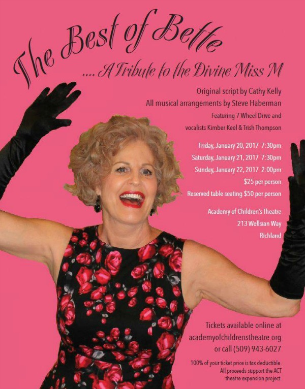The Best of Bette: A Tribute to the Divine Miss M! - Cathy Kelly's Showcase Performance | ACT Theatre in Richland, WA