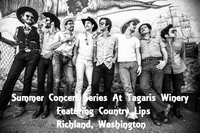 Summer Concert Series At Tagaris Winery Featuring Country Lips Richland, Washington