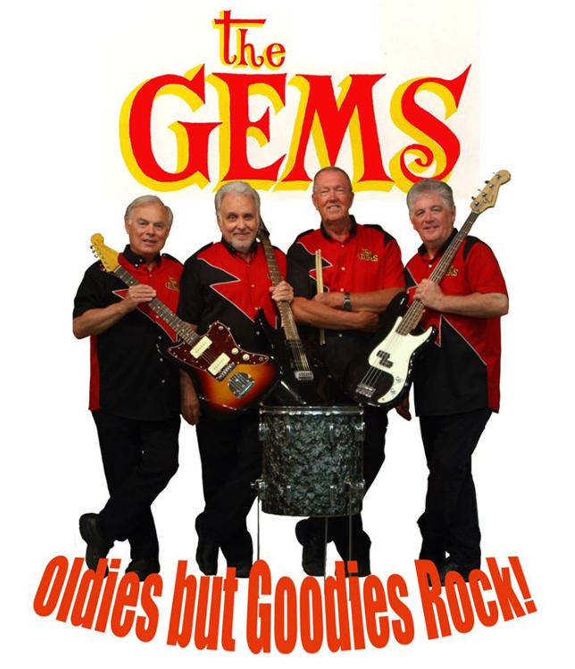 The Gems - 60s Rock & Roll At The Emerald Of Siam Richland, Washington