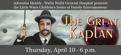 The Great Kaplan At Gesa Power House Theatre Walla Walla, Washington