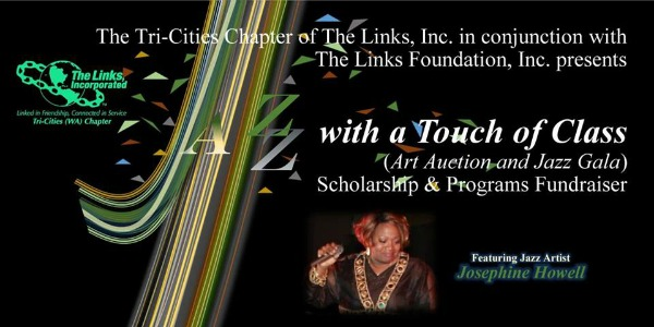 Annual Jazz with a Touch of Class Scholarship Fundraiser | Tri-Cities WA Chapter of The Links Incorporated | Pasco, WA