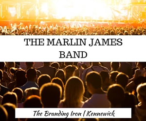 The Marlin James Band Show - An Exhibit of Compelling Country Music Performances at the Branding Iron | Kennewick