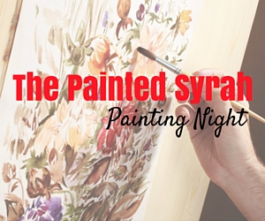 The Painted Syrah Painting Night | The Kitchen, Barnard Griffin Winery in Richland, WA