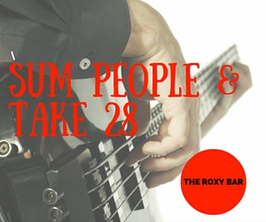 The Roxy Bar presents Sum People and Take 28 in Kennewick
