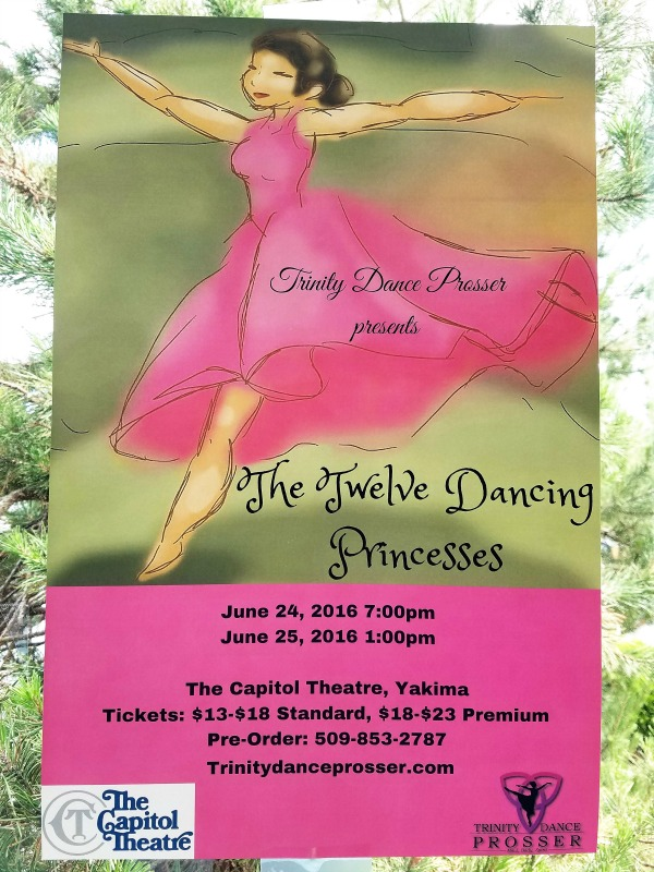 The Trinity Dance Prosser Presents The Twelve Dancing Princesses: The Mystery Behind the Dancing Shoes | The Capitol Theatre in Yakima