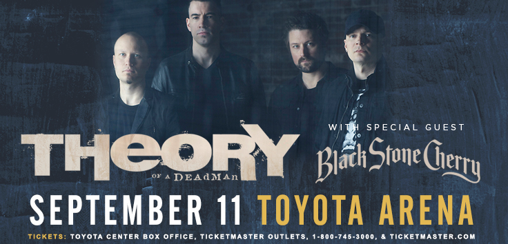 Theory Of A Deadman With Black Stone Cherry Kennewick, Washington