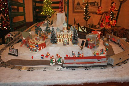 Toppenish Train Christmas At Northern Pacific Railway Museum