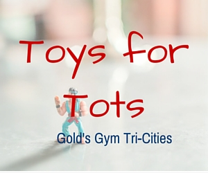 Gold's Gym's Toys for Tots in Kennewick and Richland