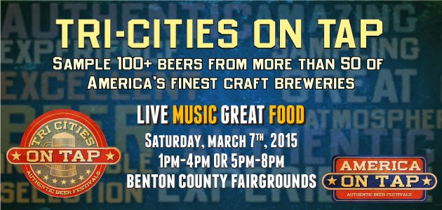 Tri-Cities On Tap Craft Beer Festival In Kennewick, Washington