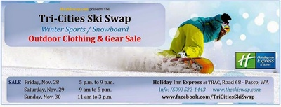 Tri-Cities Ski Swap 2015 Holiday Inn Event Center At TRAC Pasco, Washington