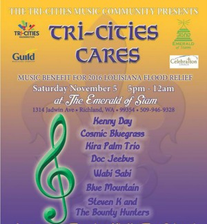 Tri-Cities Cares: Music Benefit for 2016 Louisiana Flood Relief by The Tri-Cities Music Community | Richland, WA