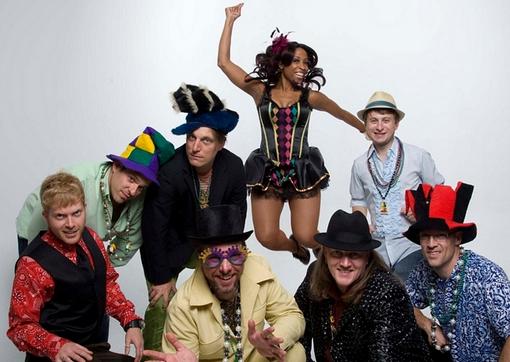 New Orleans Style Style Band Tubaluba At The Emerald Of Siam Richland, Washington