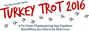 Gesa Credit Union 13th Annual Turkey Trot Benefiting the American Red Cross | Kennewick