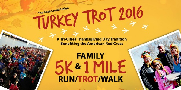 Gesa Credit Union 13th Annual Turkey Trot: A Tri-Cities Tradition That Benefits the American Red Cross | Kennewick