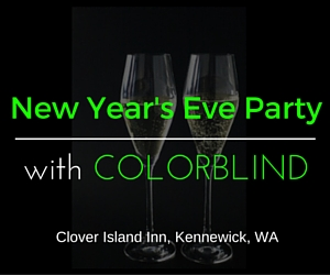 Clover Island Inn's New Year's Eve Party with Colorblind in Kennewick, WA