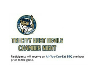 Tri-City Dust Devils Chamber Night: Dust Devils Baseball Will Blow You Away!| Pasco, WA Chamber of Commerce