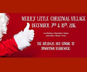 4th Annual Public Skating Rink and Merry Little Christmas Village Presented by the Historic Downtown Kennewick