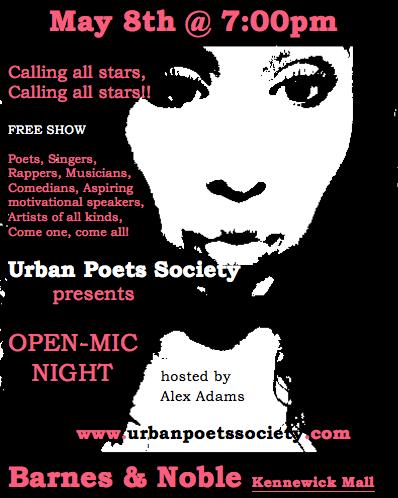 Urban Poet's Society Open Mic Barnes & Noble Kennewick, Washington