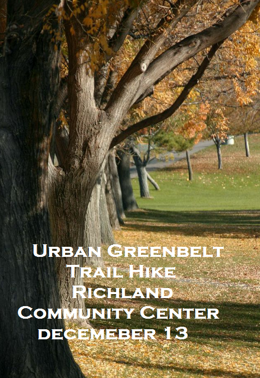 Urban Greenbelt Trail Hike Richland Community Center Richland, Washington