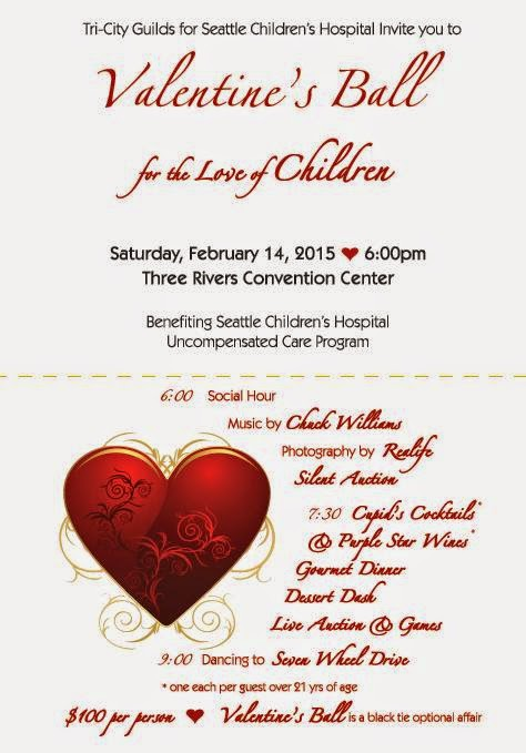 Valentine's Ball For The Love Of Children Kennewick, Washington