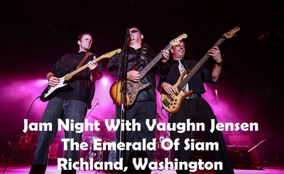 Jam Night With Vaughn Jensen At The Emerald Of Siam In Richland, WA