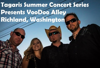 Tagaris Summer Concert Series Presents VooDoo Alley Richland, Washington