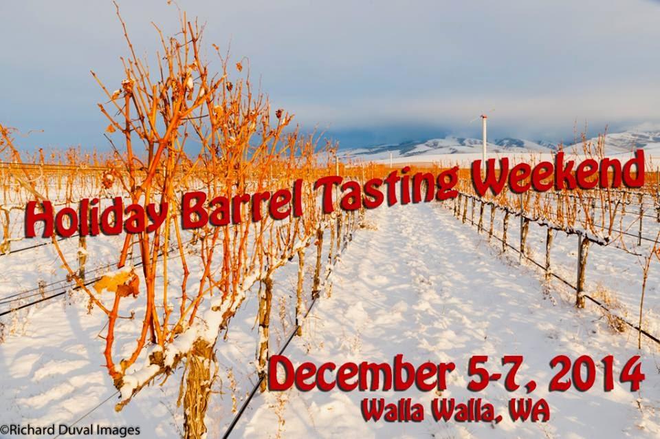 Walla Walla Holiday Barrel Tasting In Walla Walla, Washington