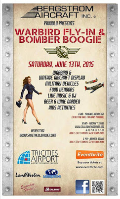 First Warbird Evening & Bomber Boogie By Bergstrom Aircraft, Inc. Pasco, Washington