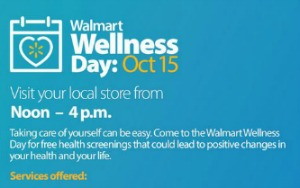 2nd Annual Walmart Health and Wellness Day: Avail of Free Health Screening and Make a Positive Change in Your Life | Kennewick